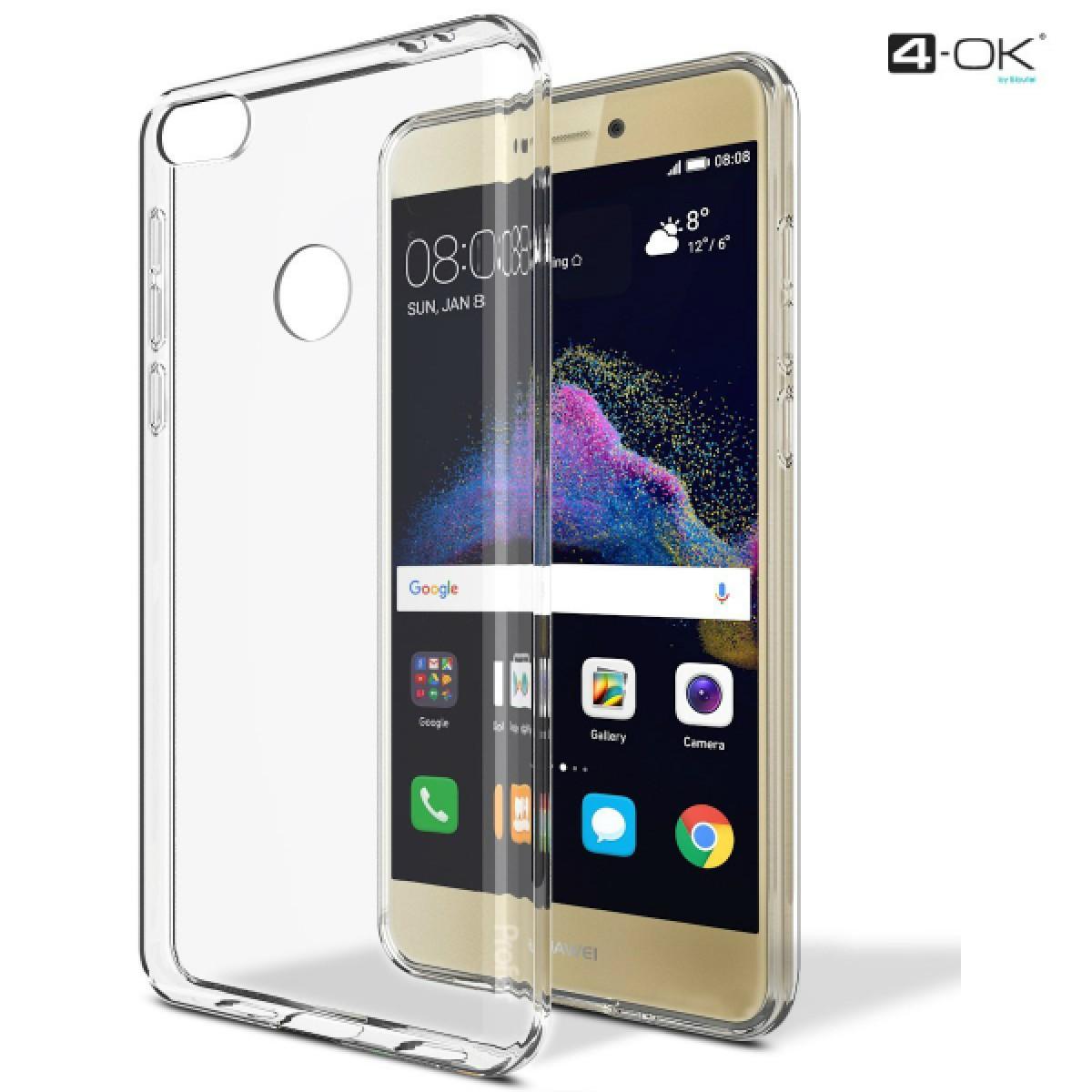 4-OK Protek 0.2 Ultra Slim Case - Huawei P8 Lite (2017) Transpar