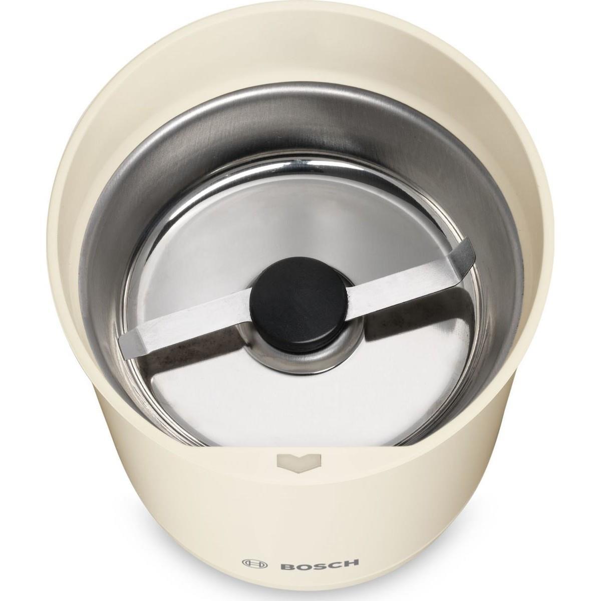 BOSCH TSM6A017C cream Ηλεκτρικός Μύλος καφέ, 75g 180W